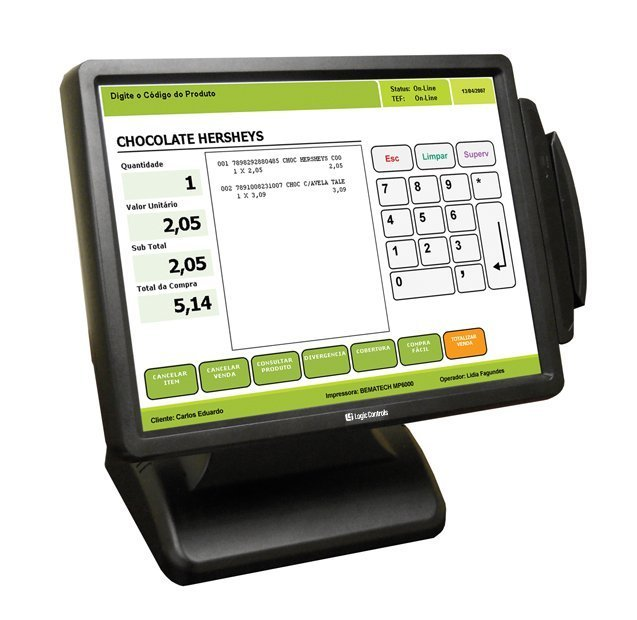 all in one point of sale terminal