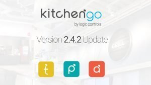 Actualización del software KitchenGo KDS Kitchen Display System