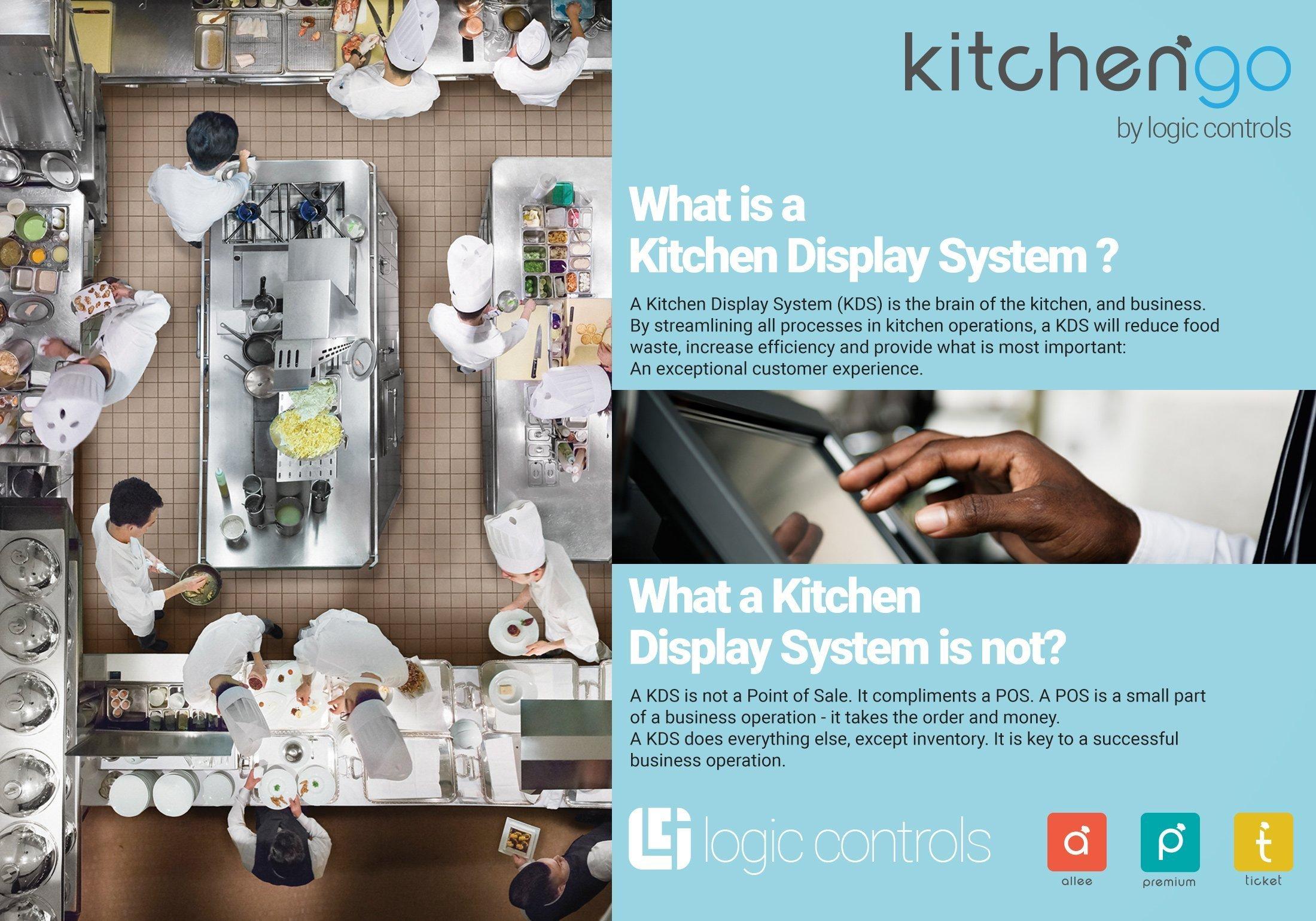 KitchenGo KDS Kitchen Display System Software Allee Premium and Ticket