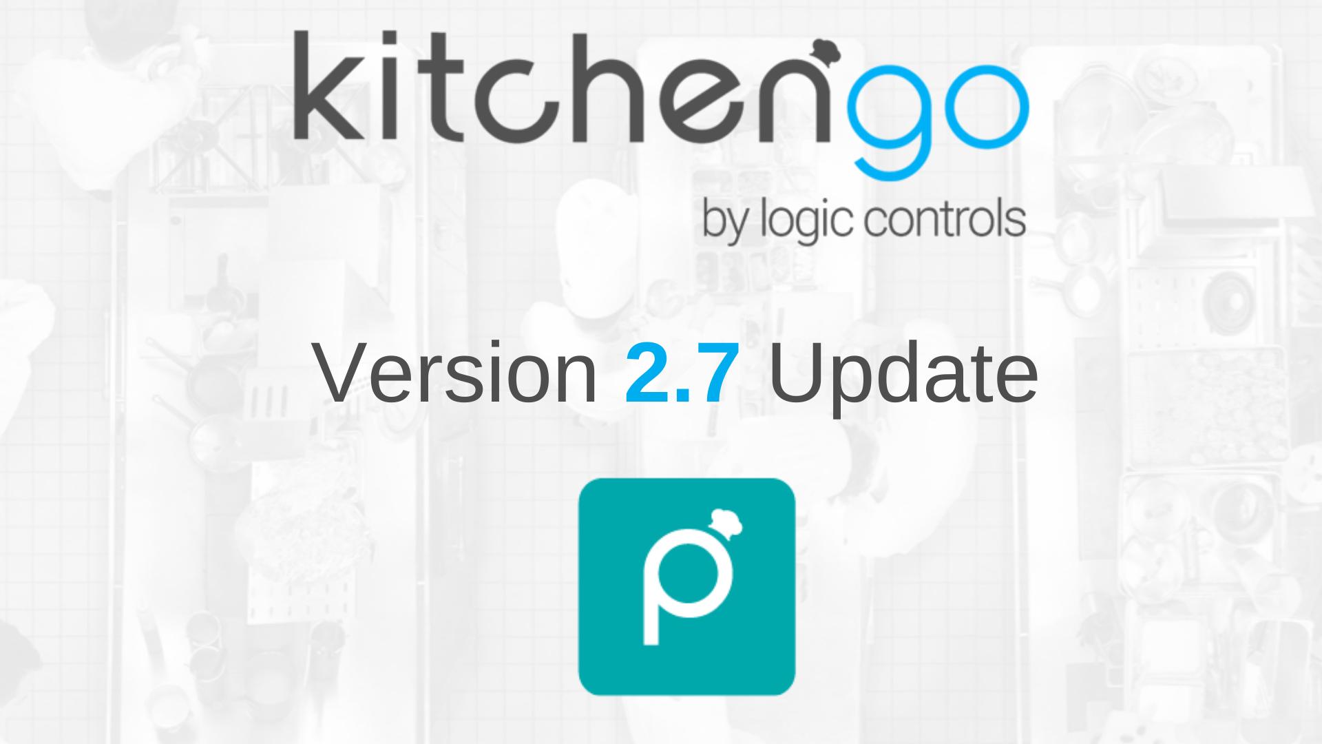Actualización del software KitchenGo KDS Premium