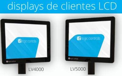 O ganho de desempenho é mais simples com os displays de LCD da Logic Controls.