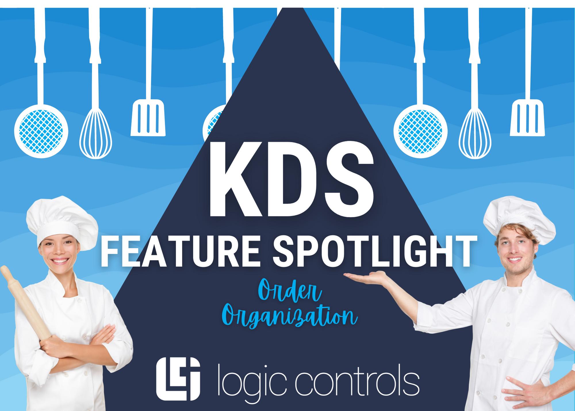 La organización de pedidos es una función de KitchenGo KDS Premium
